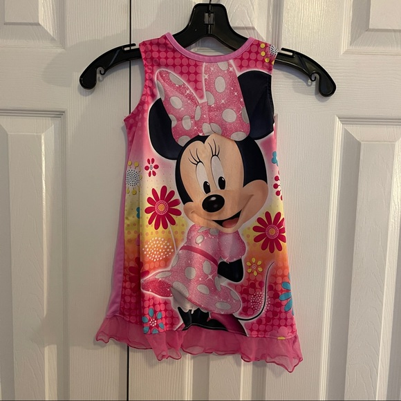 3 for $25 Disney Minnie mouse 4T sleeveless PJ dress Nightgown